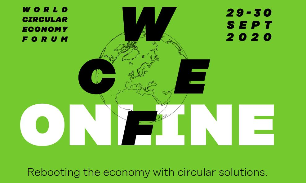 The First Virtual World Circular Economy Forum to take place on the 29th and 30th of September 2020!
